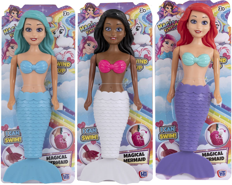 Wholesalers of Wind Up Magical Mermaids toys