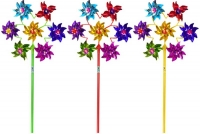 Wholesalers of Windmill Foil 19.5cm With 7 Heads Circle toys image