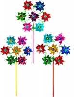 Wholesalers of Windmill Holo 19.5cm With 7 Heads Circle toys image