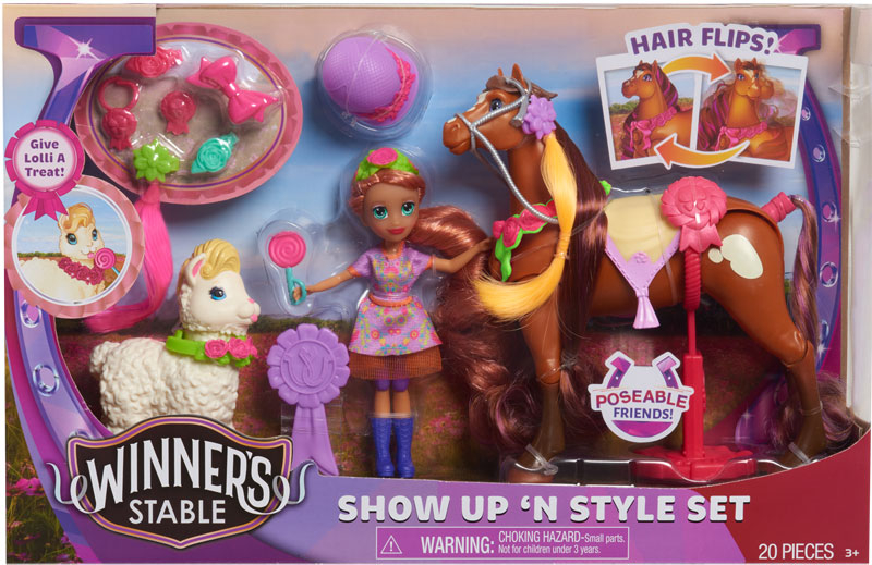 Wholesalers of Winners Stable Show Up N Style toys
