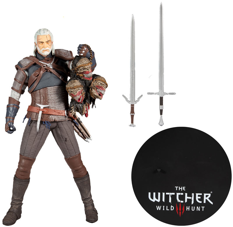 Wholesalers of Witcher 12inch Geralt Of Rivia toys