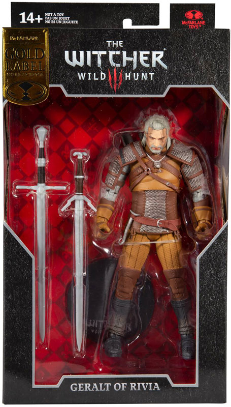 Wholesalers of Witcher Gaming Figure Collector Series toys
