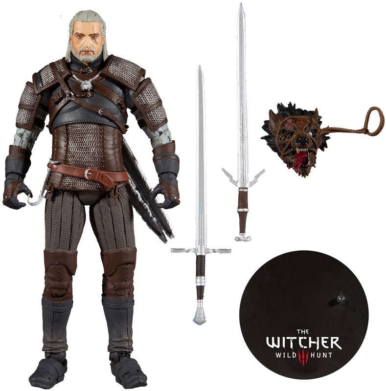 Wholesalers of Witcher Gaming Geralt Of Rivia toys