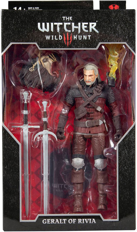 Wholesalers of Witcher Gaming Wv2 - Geralt Of Rivia toys
