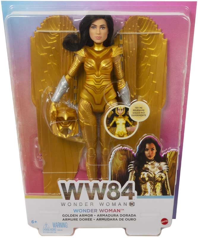 Wholesalers of Wonder Women 84  Deluxe Golden Armour Feature Doll toys
