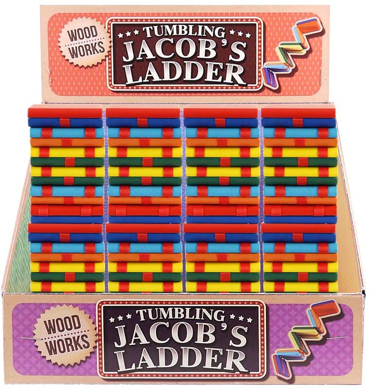 Wholesalers of Wood Works Game Ladder Jacobs Wooden 5x5x8.5cm toys