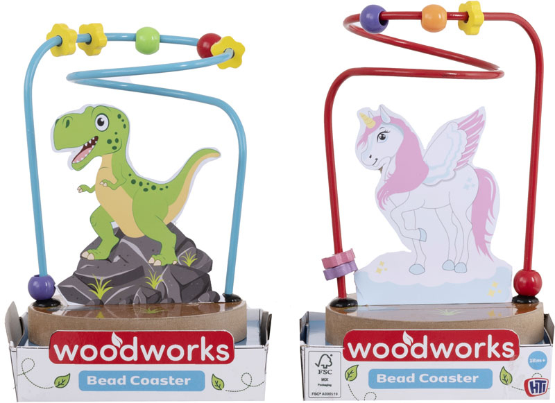 Wholesalers of Wooden Bead Coaster toys