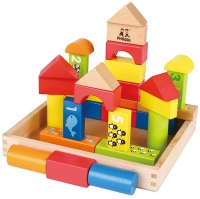 Wholesalers of Wooden Blocks With Frame 30pc toys image