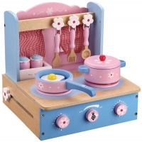 Wholesalers of Wooden Blue Tabletop Kitchen toys image