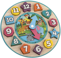 Wholesalers of Wooden Clock toys image 2