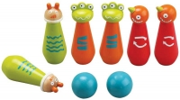 Wholesalers of Wooden Monster Bowling Set toys image