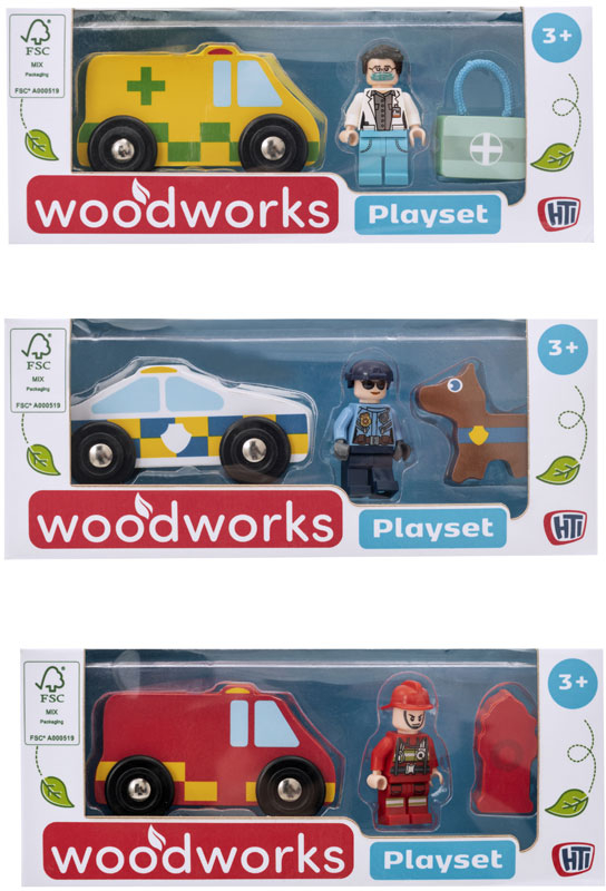 Wholesalers of Wooden Playset toys