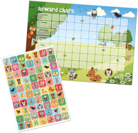 Wholesalers of Woodland Friends Reward Chart And Stickers toys image 2