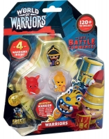 Wholesalers of World Of Warriors 4 Pack Asst toys image