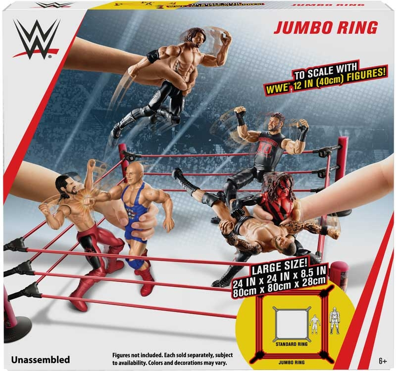 Wholesalers of Wwe 12 Inch Scale Ring toys