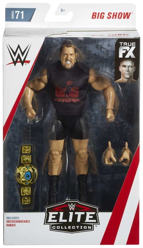 Wholesalers of Wwe Elite Collection Big Show Chase toys