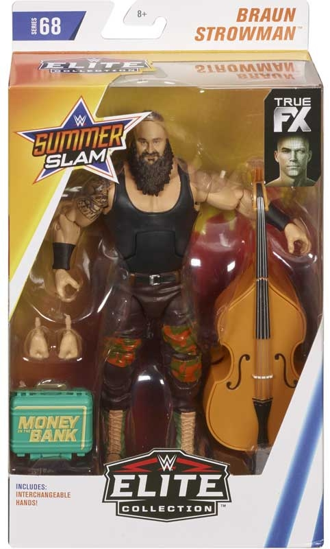 Wholesalers of Wwe Elite Collection Braun Strowman 2017 toys