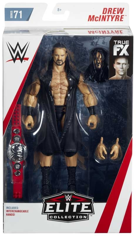 Wholesalers of Wwe Elite Collection Drew Mcintyre toys