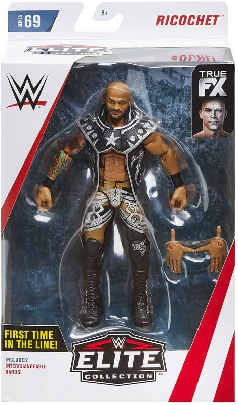 Wholesalers of Wwe Elite Collection Ricochet toys