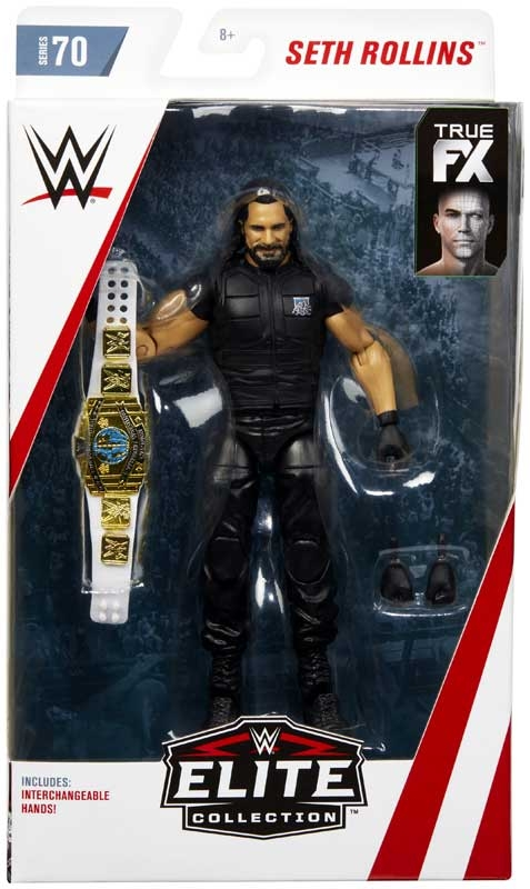 Wholesalers of Wwe Elite Collection Seth Rollins toys