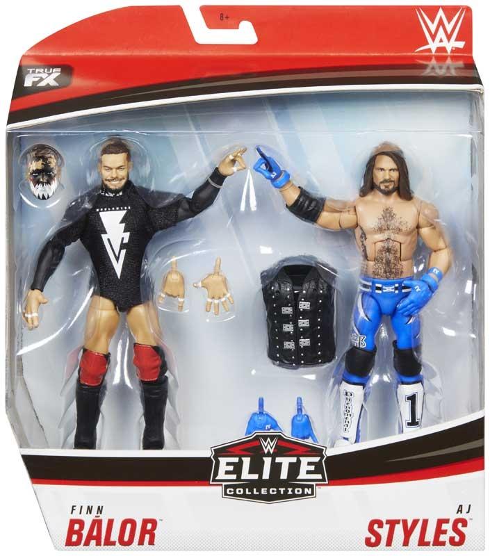 Wholesalers of Wwe Finn Balor Vs Aj Styles Elite Collection 2-pack toys