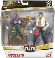 Wholesalers of Wwe Rey Mysterio Vs Samoa Joe Elite Collection 2-pack toys image