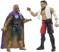 Wholesalers of Wwe Rey Mysterio Vs Samoa Joe Elite Collection 2-pack toys image 3