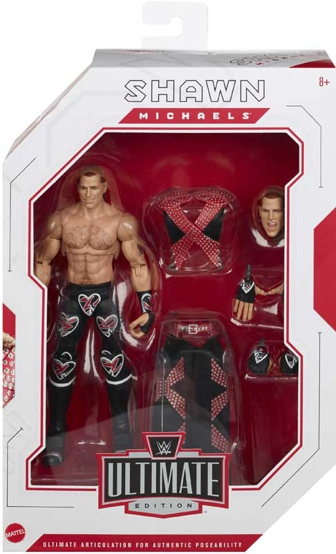Wholesalers of Wwe Shawn Michaels Ultimate Edition Action Figure toys
