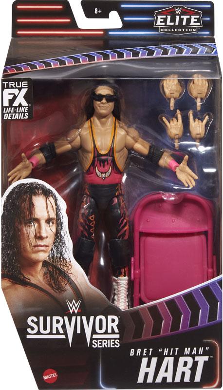 Wholesalers of Wwe Survivor Series 35 Elite Collection: Bret The Hitman Har toys