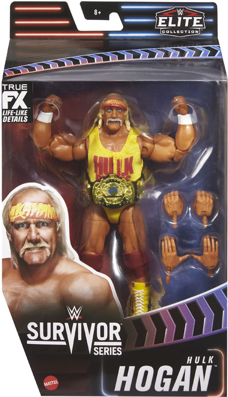 Wholesalers of Wwe Survivor Series 35 Elite Collection: Hulk Hogan 1989 toys