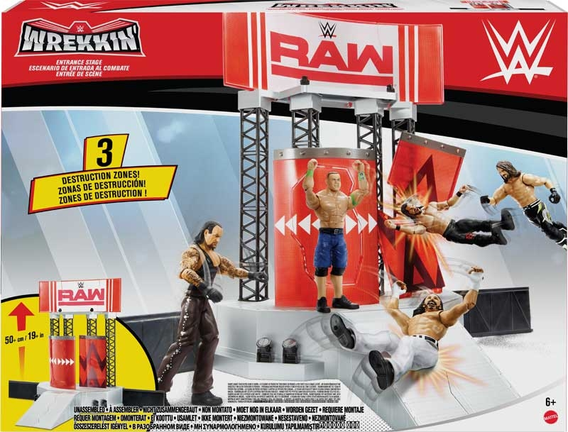 Wholesalers of Wwe Wrekkin Entrance Stage Playset toys