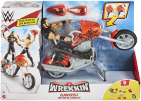 Wholesalers of Wwe Wrekkin Feature Motorbike toys image