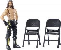 Wholesalers of Wwe Wrekkin Figure Aj Styles - Punching - 2x Chairs toys image 2