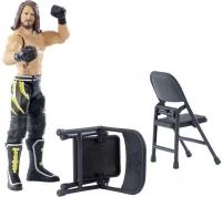 Wholesalers of Wwe Wrekkin Figure Aj Styles - Punching - 2x Chairs toys image 3