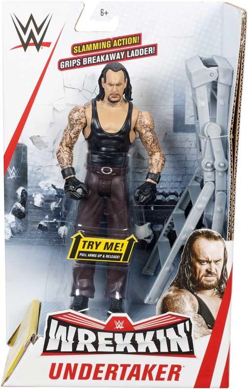 Wholesalers of Wwe Wrekkin Figure Undertaker - Slamming - Ladder toys