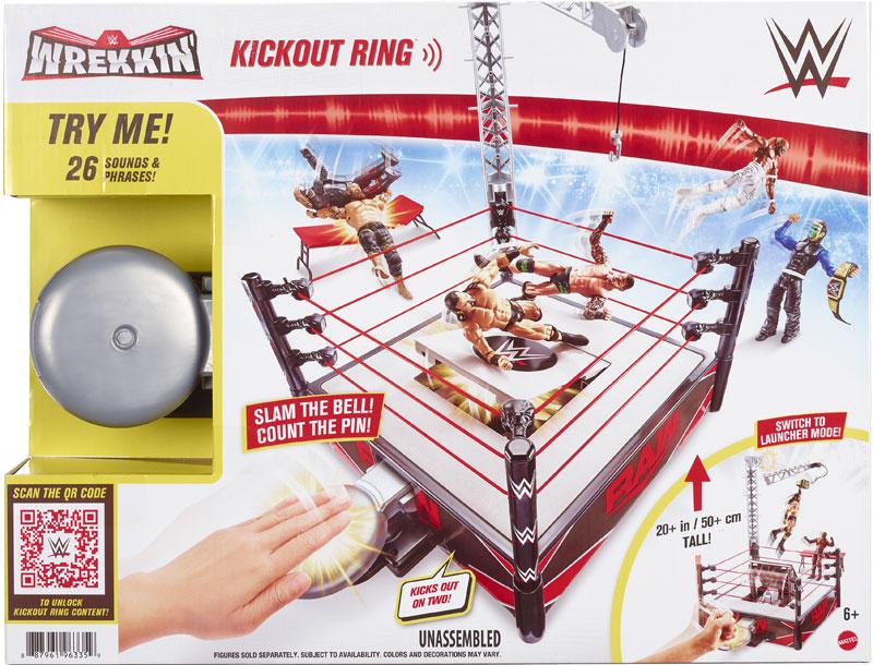 Wholesalers of Wwe Wrekkin Kickout Ring Playset toys