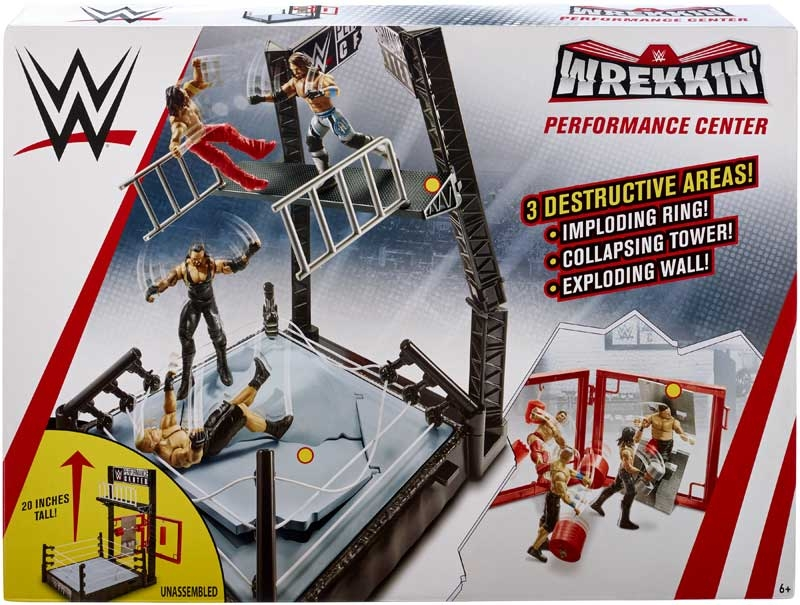 Wholesalers of Wwe Wrekkin Performance Centre toys
