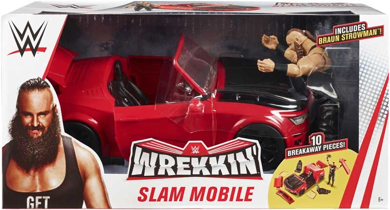 Wholesalers of Wwe Wrekkin Slam Mobile toys