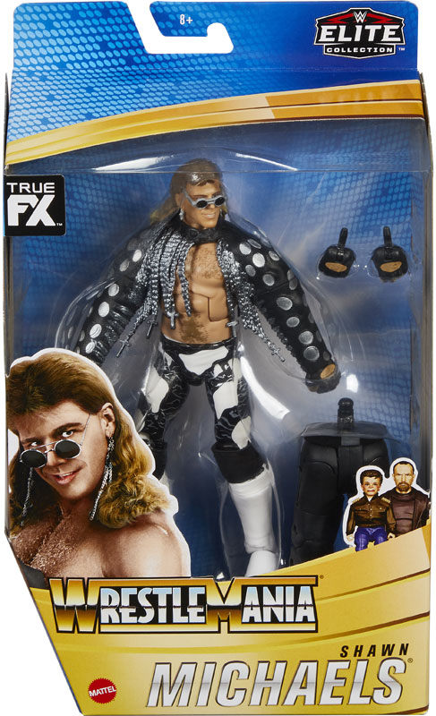 Wholesalers of Wwe Wrestlemania 37 Elite Collection - Shawn Michaels toys