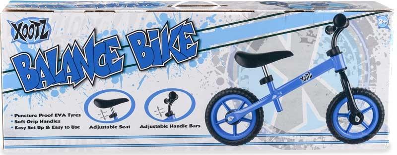 Wholesalers of Xoo Balance Bike Blue toys
