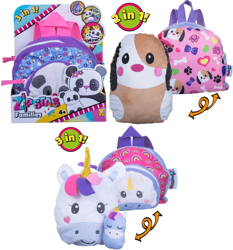 Wholesalers of Zipstas Snuggle Pals Asst - W1 toys