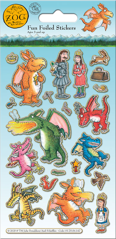Wholesalers of Zog Stickers toys