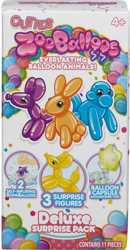 Wholesalers of Zooballoos Mega Surprise Pack toys