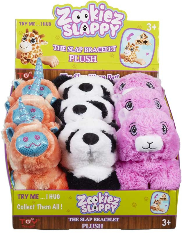 Wholesalers of Zookiez Slappy toys